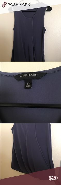Banana Republic Plum tank Banana republic plum tank. Very comfy material. Worn once! Has a baggier flow at the bottom. Super cute for work! Fits like size small. Banana Republic Tops Tank Tops