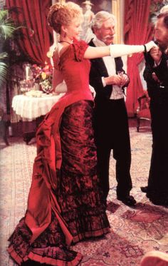 "The Age of Innocence (1993) Michelle Pfeiffer as Ellen, Countess Olenska. Director: Martin Scorsese. #CostumeDesign: Gabriella Pescucci - ""but the countess didn't observe that rule ... """