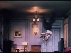 Fred Astaire - Royal Wedding - Famous Ceiling Dance  (filmed by building the room set inside a revolving steel barrel and mounting the camera and operator to the floor so they would rotate along with the room)