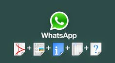 Getting trouble in sending pdf, audio or zip file on Whatsapp. Now you can send any file on whatsapp for Android and Iphone users. Share any file on whatsapp