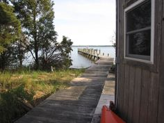 A small, off-grid home on the Patuxent River in Southern, Maryland. Off The Grid, Sidewalk, River, Side Walkway, Walkway, Walkways, Rivers, Off Grid, Pavement