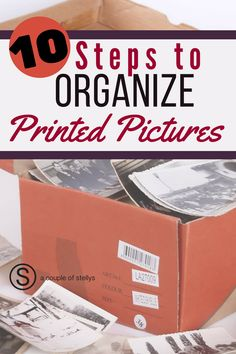 to Preserve Printed Priceless Photos in 10 Steps Learn the best ways to sort and organize both new and old printed pictures.Learn the best ways to sort and organize both new and old printed pictures. Picture Storage, Foto Fun, Old Family Photos, Scrapbooking, Storage Organization, Storage Ideas, Scrapbook Organization, Photo Projects, Photo Craft