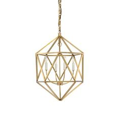 Wildwood Barley 4-Light Geometric Pendant