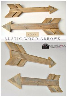 Easy Crafts To Make and Sell - Rustic Wood Arrows - Cool Homemade Craft Projects You Can Sell On Etsy, at Craft Fairs, Online and in Stores. Quick and Cheap DIY Ideas that Adults and Even Teens Can Make http://diyjoy.com/easy-crafts-to-make-and-sell