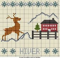 In the order of things: Бесплатные дизайны! Вышивка крестом! Зима. Часть 2.