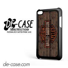 Harley Davidson On Wood For Ipod 4 Case Phone Case Gift Present