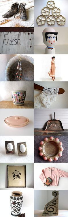 Vintage Fresh by Untried on Etsy--Vintage and Main feature shops Vintagefrenchlinens.etsy.com & marybethhale.etsy.com