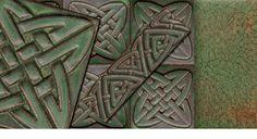 Motawi Celtic tiles, Ann Arbor, Michigan