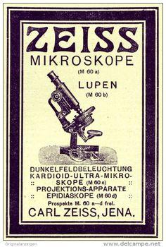 Original-Werbung/Inserat/ Anzeige 1911 - ZEISS MIKROSKOPE - ca. 100 x 75 mm