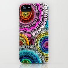 mandala iPhone & iPod Case by Goyye - $35.00