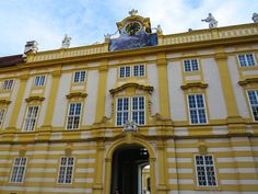 Melk Abbey, Austria; Read stories at www.whattravelwriterssay.com Wachau Valley, Travel Articles, Austria, Mansions, House Styles, Manor Houses, Villas, Mansion, Palaces