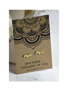 ANGEL EARRINGS Angel Wing Earrings Gold Earrings Guardian