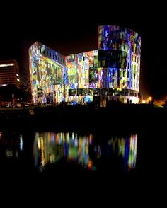 University Eindhoven during GLOW event #Eventinterface