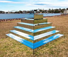 Mirrored Ziggurat connects the earth and sky in Sydney