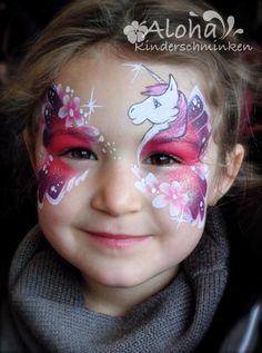 Kinderschminken Motive für Ihre Kinderparty! (Diy Costume Unicorn)