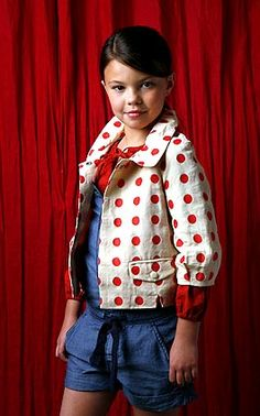 kid fashion - polka dots