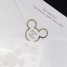 For her invitations or for shower invites ? Little subtle Disney nod?
