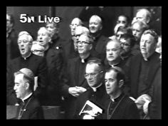 Video of St. John Paul II singing the Pater Noster in Holy Name Cathedral Chicago. The video ends with St.John Paul II giving a blessing.