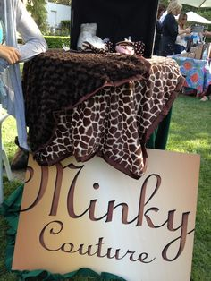 Minky Couture for pets