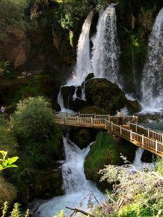 Waterfall, Sivas Province, Turkey