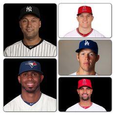 My Top Favorite Baseball Players
