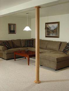 on pinterest finished basements basements and basement pole covers