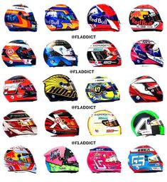 Which driver has the best helmet? - - - - - managed by Red Bul, Racing Helmets, F1 Drivers, F 1, Formula One, Super Cars, Spiderman, Audi, Addiction