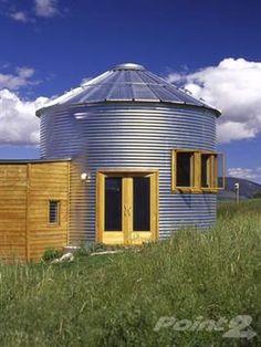 smaller silo home