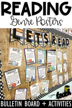 Do you want to decorate your classroom library with meaningful classroom decor? These informative & cheerful reading genre posters are perfect for you! This back to school season, hang these posters around your room to help your students understand & differentiate between the reading genres they'll be reading & finding in your classroom library. Click the pin to check out all the posters included in this resource! Reading Genre Posters, Reading Genres, Reading Lessons, Ela Classroom, Classroom Decor, Traditional Literature, Mystery Stories, Independent Reading, Reading Workshop