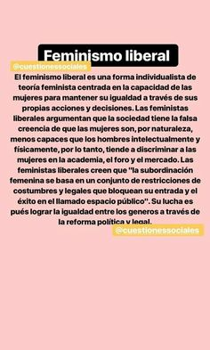 Feminismo liberal Feminist Af, World Quotes, Riot Grrrl, Human Condition, Power Girl, Insta Story, Powerful Women, Women Empowerment, Equality