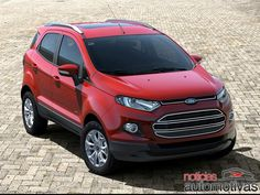 Ford EcoSport 2013...it's mean lookin'! I like it!
