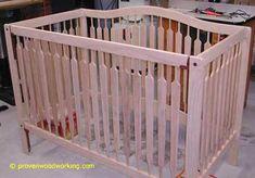 3 1 Convertible Crib Plans Diy Crafts Cribs Baby Cribs Baby Crib Diy