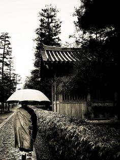 Japanese priest in Kyoto