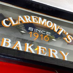 Some Crust Bakery in Claremont has been in business nearly 100 years!  Check out my adventure to their store!