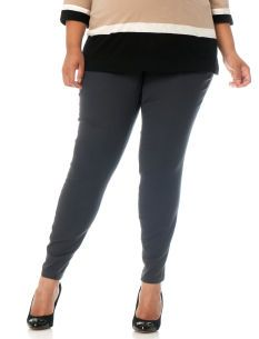 Motherhood Maternity Plus Size Secret Fit Belly(r) 5 Pocket Skinny Leg Maternity Pants