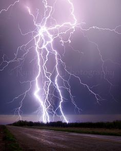 AWESOME Lightning Storm In Munday,Texas