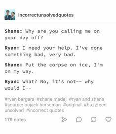 Shane Madej Ryan Bergara Buzzfeed Unsolved #shaniac #boogara