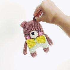Crochet toy, amigurumi, crochet pattern, crochet bear, amigurumi bear, crochet dolls, lalylala, crochet teddy