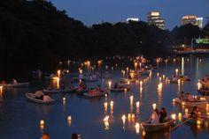 Chiyoda-ku Noryo no Yube (Lantern Floating Event) / Official Tokyo Travel Guide GO TOKYO
