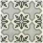 Merola Tile Vintage Classic 9-3/4 in. x 9-3/4 in. Porcelain Floor and Wall Tile (10.76 sq. ft. / case)-FCD10VTC - The Home Depot