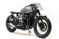 Beautiful Grey CB750 Cafe-Racer by Steel Bent Customs - Photo Gallery
