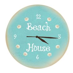 Beach House Clock