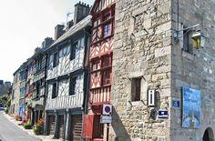 Mit dem HymerMobil in die Bretagne 2007: Tag 04: in Treguier