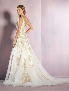 Alfred Angelo Disney Fairy Tale Weddings Bridal Collection 255 Rapunzel A-Line Wedding Dress Disney Inspired Wedding Dresses, Rapunzel Wedding Dress, Tangled Wedding, Wedding Dress Styles, Wedding Gowns, Disney Weddings, Tulle Wedding, Princess Wedding, Garden Wedding