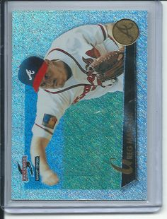 Greg Maddux Atlanta Braves 1995 Score Summit Nth degree Baseball card #30