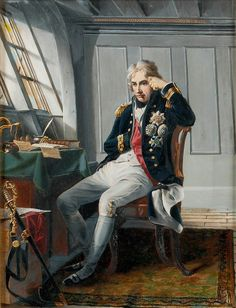 Viscount Horatio Nelson (1758-1805), before the Battle of Trafalgar, 21 October 1805 - George Lucy Good - Royal Museums Greenwich Prints
