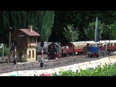 Traum von Gartenbahn,Teil 1/2; Dream of garden railway,Part 1/2 - YouTube