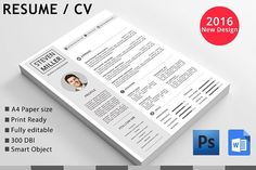 cv by Creative Templates on @Graphicsauthor