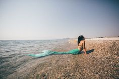 Portraits for an Italian mermaid during summer holidays in Greece Mykonos, Santorini, Mermaid Tale, Greece Holiday, Greece Wedding, Paros, Crete, Athens, My Images