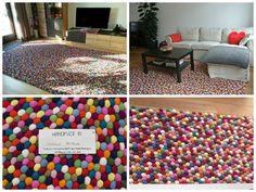 Noch ein schöne Beispiel warum man einen Multicolor FilzKugelTeppich haben muss. Bunt, lebendig und macht jedes Zimmer strahlend. Rechteckige Multicolor FilzKugelTeppiche: http://filzkugelteppiche.de/rectangle-rugs/felt-ball-rug-rectangle-multi-colour.html